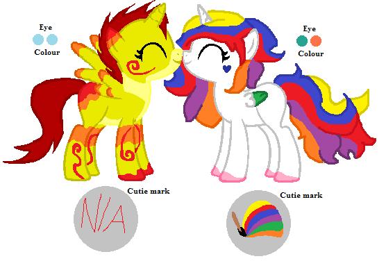Coloring Book/Creator Reimaginings - Salki\'s Ponies